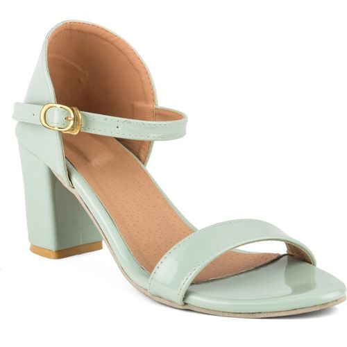 Cute Fashion Women Green Heels