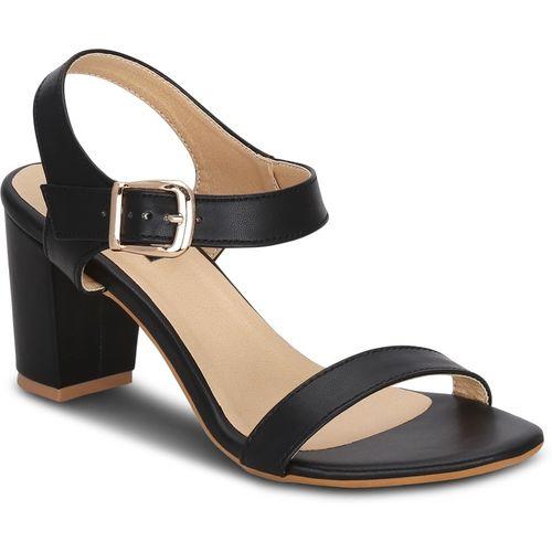 Get Glamr Women Black Heels