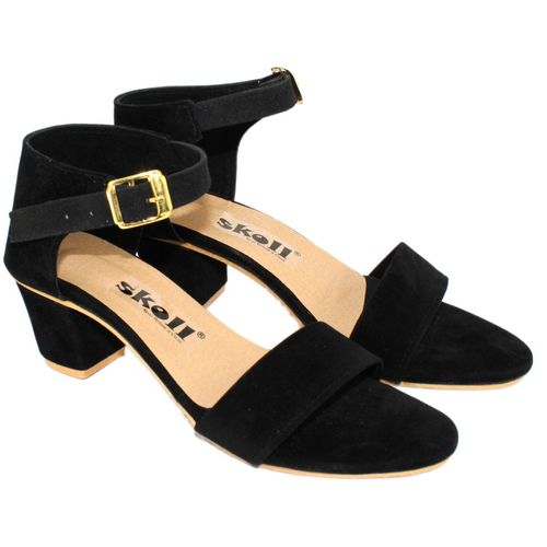 SKOLL Women Black Heels