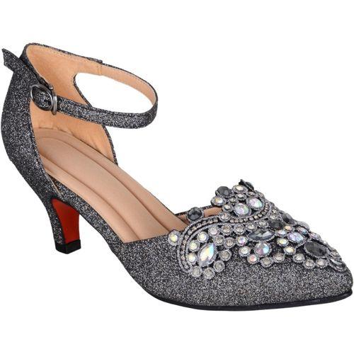 SHERRIF SHOES Women Grey Heels