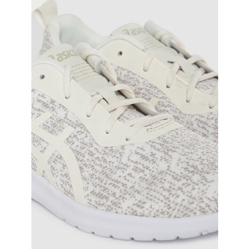 ASICS Women Off-White KANMEI 2 Running Shoes