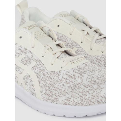 ASICS Women Off-White KANMEI 2 Running Shoes