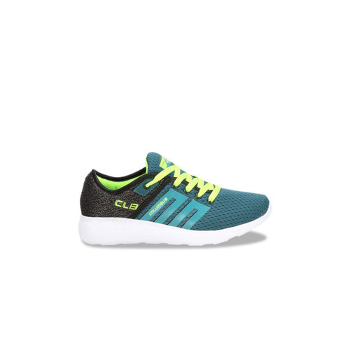 Columbus Women Green Mesh Running Shoes