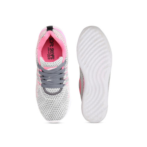 Columbus Women Pink Mesh Running Shoes