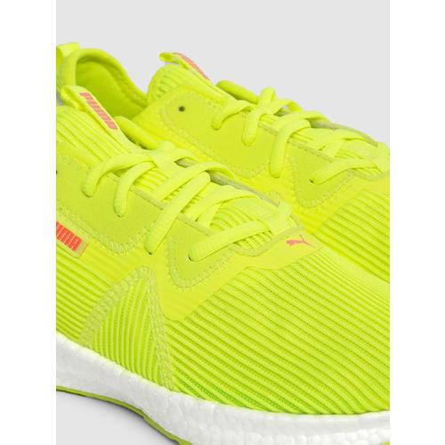 Puma Women Fluorescent Green NRGY Star Femme SoftFoam+ Running Shoes