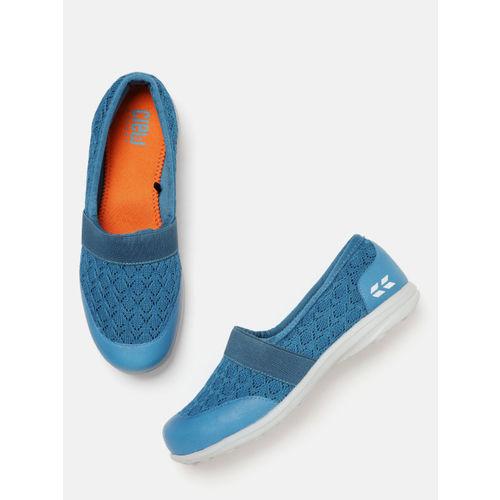 Crew STREET Women Teal Blue Walking Shoes