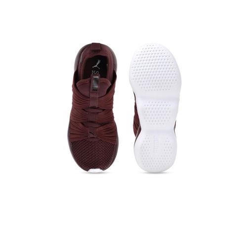 Puma Women Maroon Flourish Wn's Running Shoes