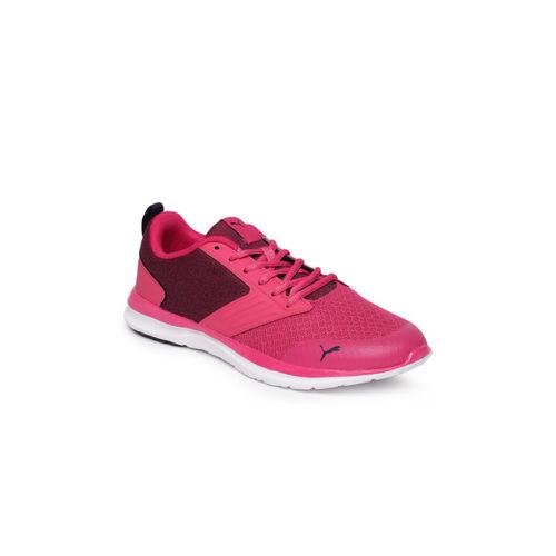 Puma Women Pink Agile t1 NM Wn's IDP Running Shoes