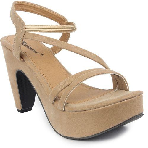 Digni Women Beige Heels