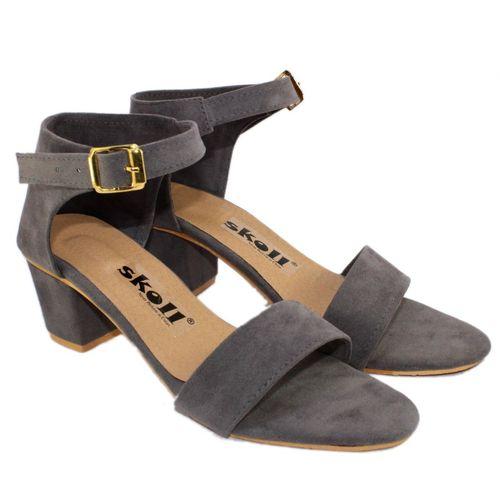 SKOLL Women Grey Heels