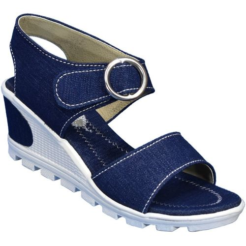 IndiForce Women Blue Heels