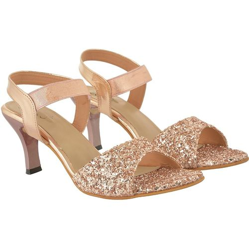 Jade Women Gold Heels