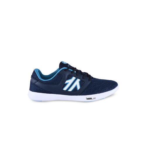 Campus Women Blue Mesh Running Shoes