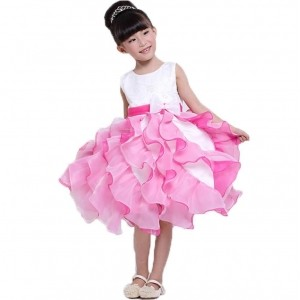 Tiany Pink Polyester Sleeveless Party Wear Dress