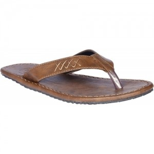 Knight Ace Brown Slip-On Slippers