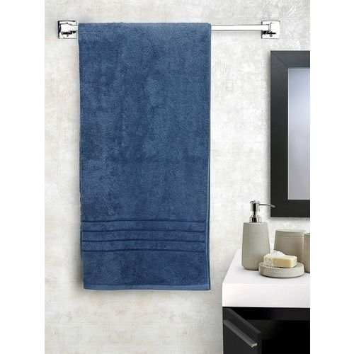 Trident Indulgence Blue Cotton 600 GSM Bath Towel