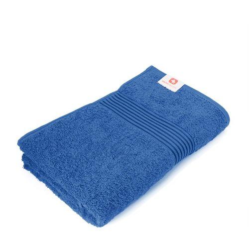 Swiss Republic Cotton 650 GSM Bath Towel(Blue)