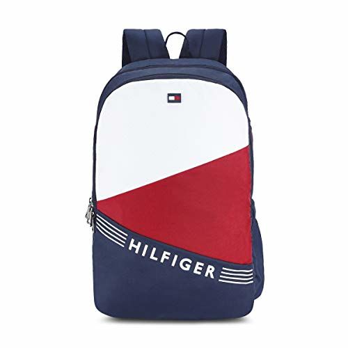 Tommy Hilfiger Bentley 24 Ltrs Navy Laptop Backpack (TH/BENTLEYLAP08)