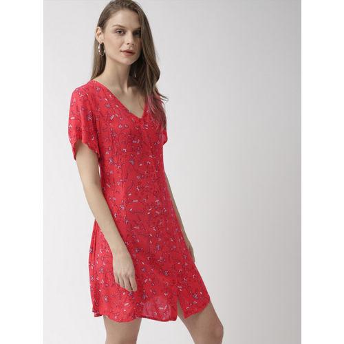 Mast & Harbour Women Coral A-Line Dress