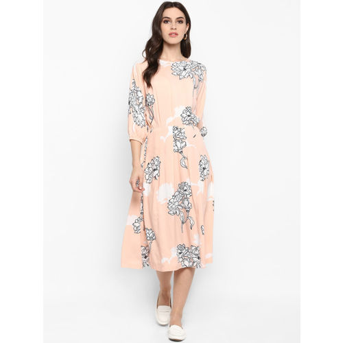 MIAMINX Women Pink Blouson Dress