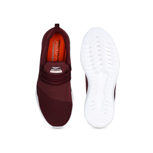 Red Tape Men Maroon Walking Shoes