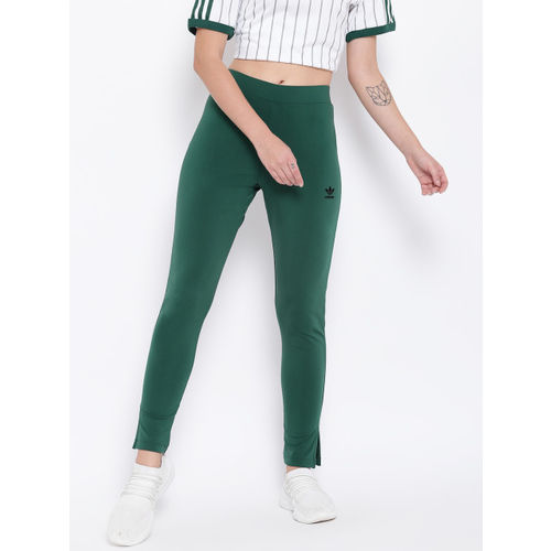 ADIDAS Originals ADIDAS Women Green Solid DU9884-CGREEN Tights