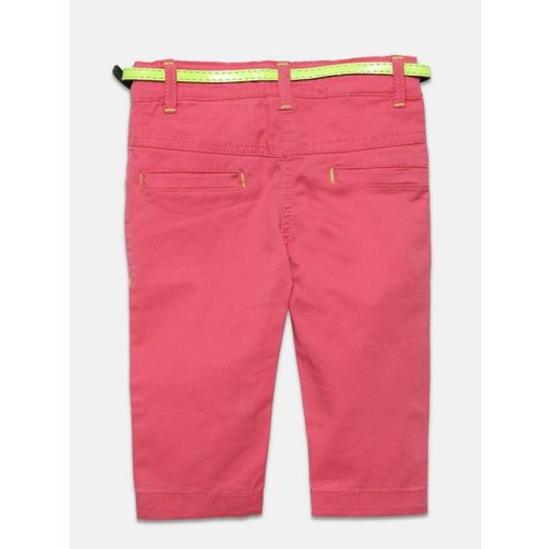612 league Girls Pink Trousers