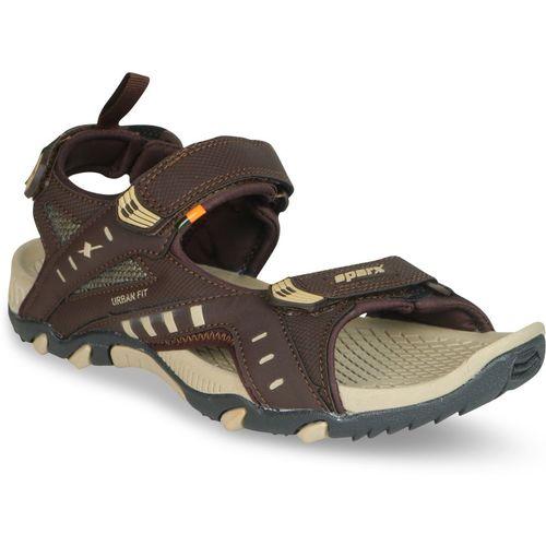 Sparx SS-485 Men Brown, Beige Sandals