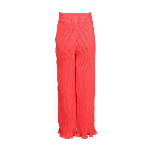 CUTECUMBER Girls Peach-Coloured Regular Fit Palazzo Trousers