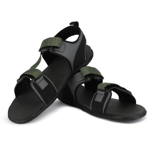 Puma Men Grey, Green Sports Sandals