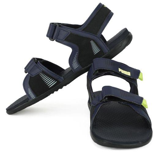 Puma Men Black, Navy Sports Sandals