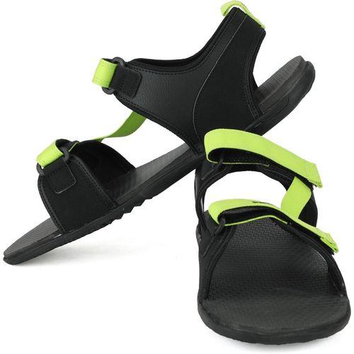 Puma Men Black, Green Sports Sandals