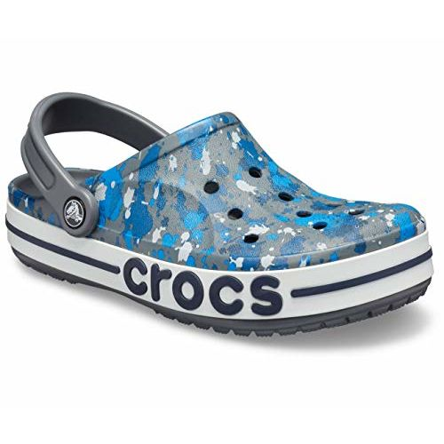 crocs Unisex's Bayaband Printed Clog Outdoor Sandals