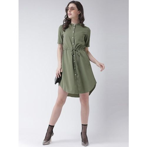 MsFQ Olive Printed Dress