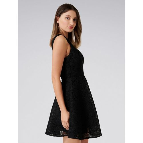 Forever New Black Lace Dress