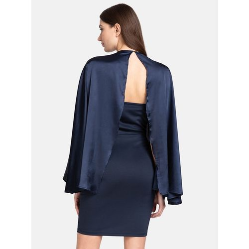 Kazo Blue Above Knee Dress