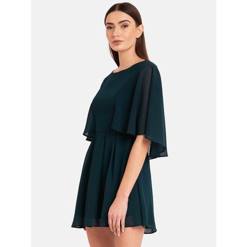 Kazo Green Above Knee Dress