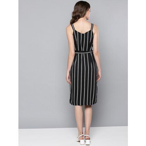Street 9 Black & White Striped Dress