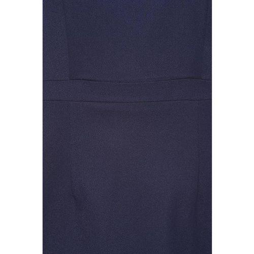 Van Heusen Navy Regular Fit Above Knee Dress
