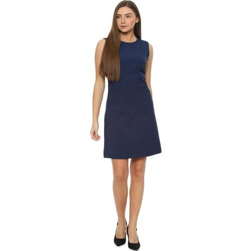 Solly by Allen Solly Navy Regular Fit Above Knee Dress