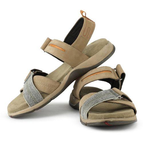 Woodland Men Khaki, Green Sports Sandals