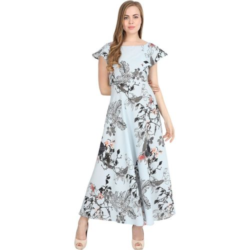 Kannan Women Maxi Light Blue Dress