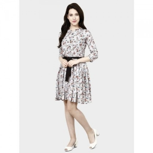 AVDHUT Women A-line Grey Dress