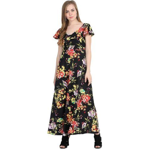 Kannan Women Maxi Black Dress