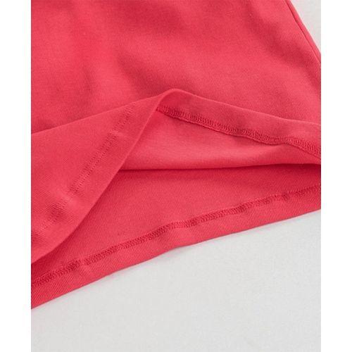 Vitamins Full Sleeves Tee Shine Bright Print - Pink