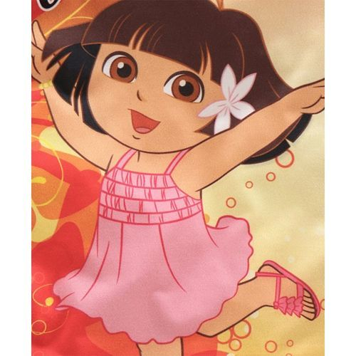 Eteenz Three Fourth Sleeves Top Dora Print - Yellow