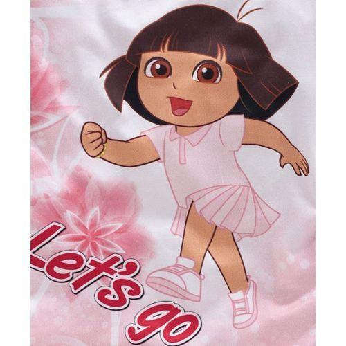 Eteenz Three Fourth Sleeves Top Dora Print - Red
