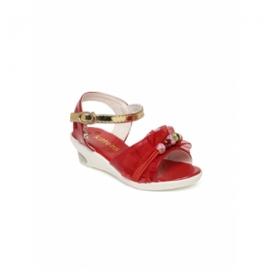 Kittens  Red Synthetic Casual Sandals