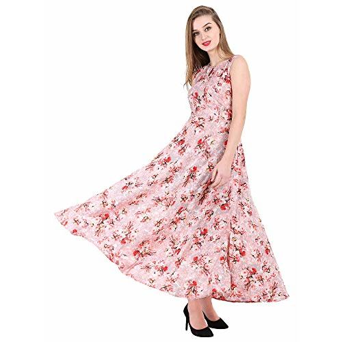 16 Always Women's Pink Dress, Western Dresses,Maxi Dress- Fancy Dress for Women