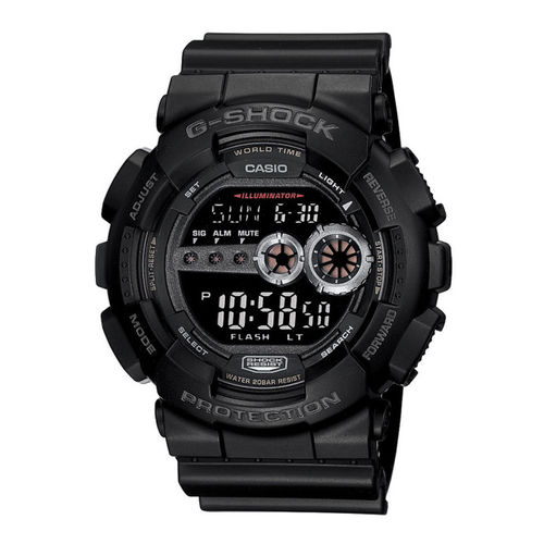 CASIO G-SHOCK Men Black Dial Basic Watch GD-100-1BDR - G310
